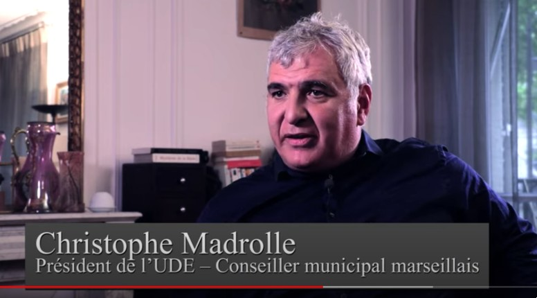 christophe Madrolle sur les verts antisionistes