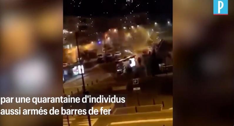 Le commissariat de Champigny-sur-Marne attaqué peu après minuit par des dizaines de racailles à coups de mortiers et de barres de fer (Vidéo)