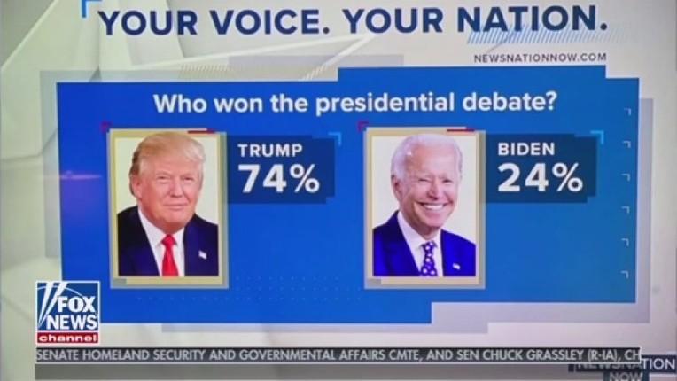 Débat présidentiel : une écrasante victoire de Trump sur le corrompu Joe Biden