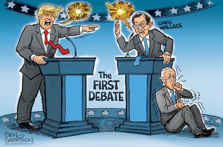 Guy Millière: «Le débat Trump-Biden n'a pas eu lieu !»