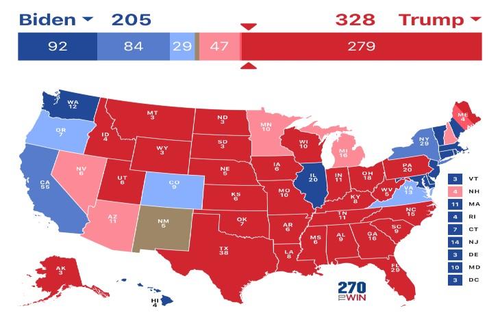 élections USA Trump vs Biden