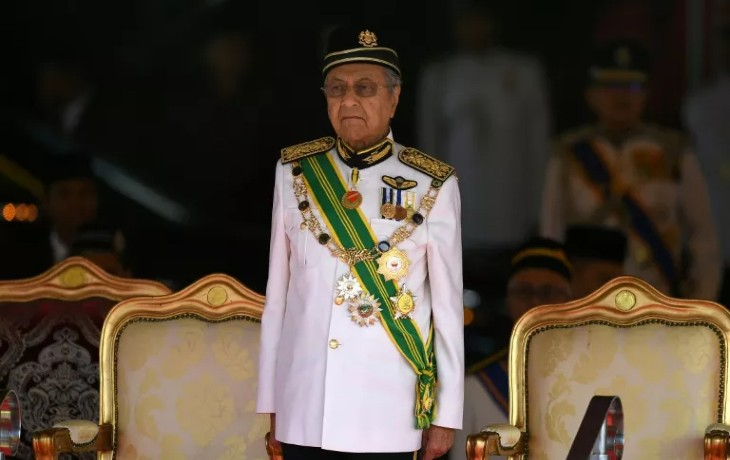 ex- Premier ministre malaisien Mahathir Mohamad