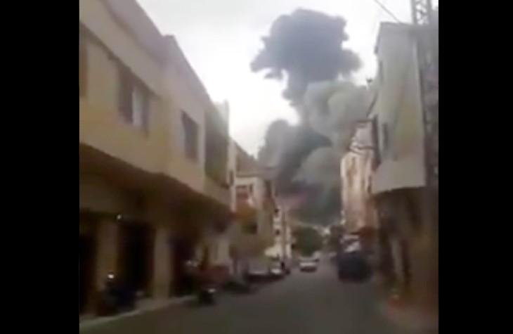 Accident du travail chez les terroristes : un stock d'armes du Hezbollah, caché dans une ONG «humanitaire», explose faisant  un mort et plusieurs blessés