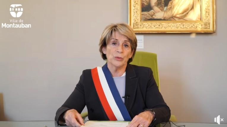 la maire Brigitte Barèges Montauban