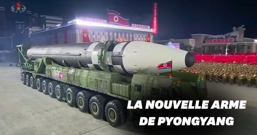 missile balistique géant Corée du Nord