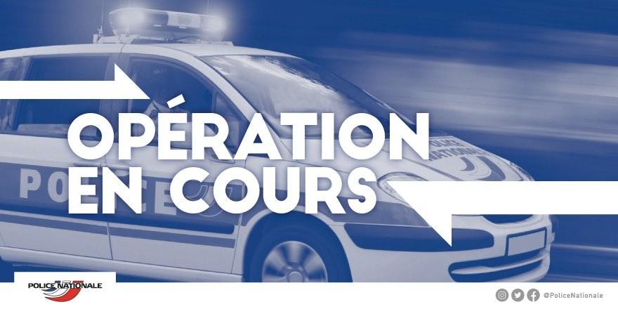 opération police Lyon gare