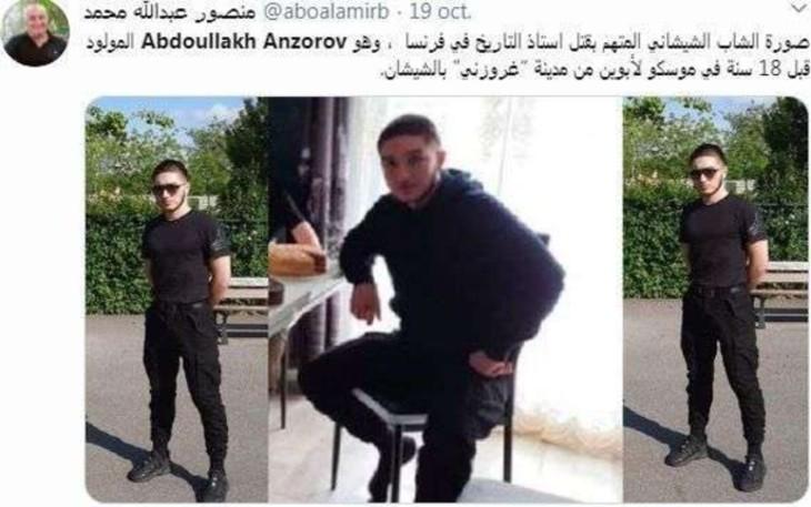 Le compte Twitter du terroriste islamiste avait été signalé six jours avant la décapitation de Samuel Paty