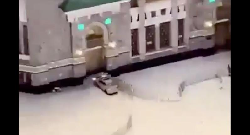 voiture grande mosquée la mecque