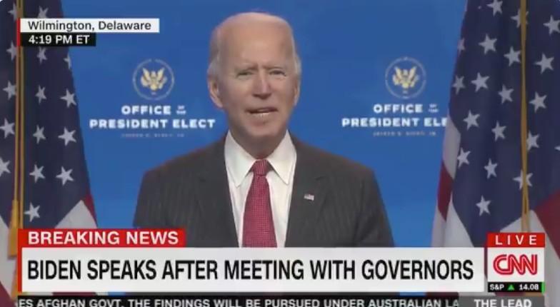 Accusé de racisme, le sénile Biden a promis d'aider les entreprises, sauf celles appartenant à des hommes blancs…