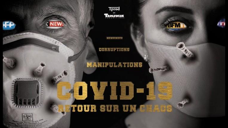 """""""Hold-up"""", le documentaire jugé """"complotiste"""",  par les journalistes gauchistes, qui dénonce la """"manipulation, les mensonges et corruptions"""" sur le Covid-19 (Vidéo)"""