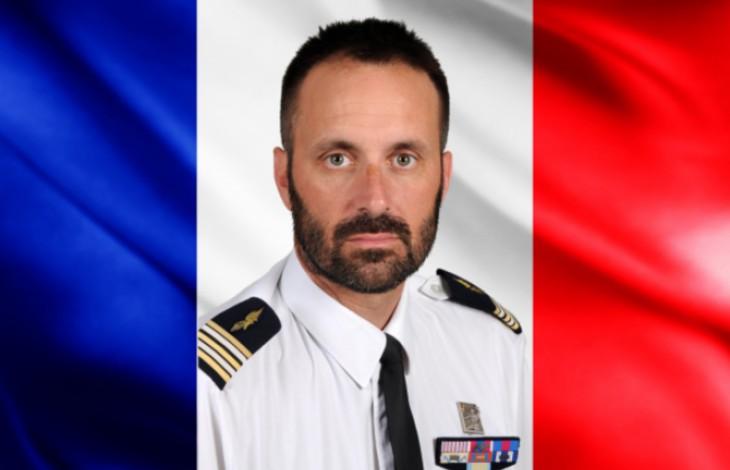 Le lieutenant-colonel Sébastien Botta