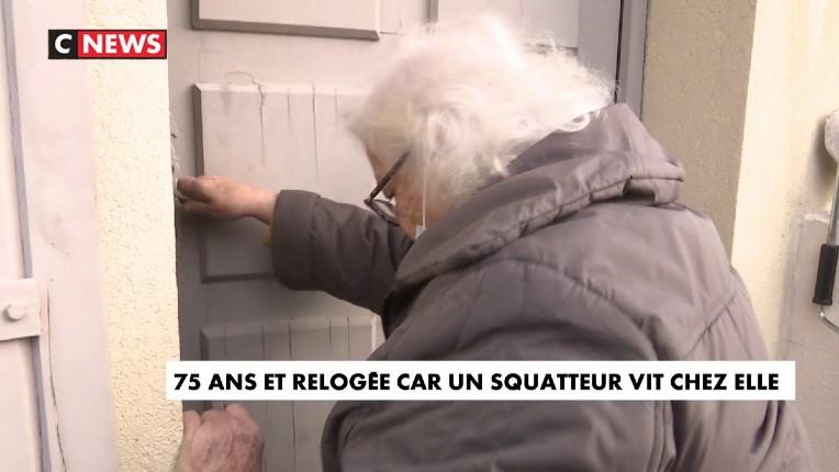 A 75 ans, elle doit être relogée car un squatteur vit chez elle