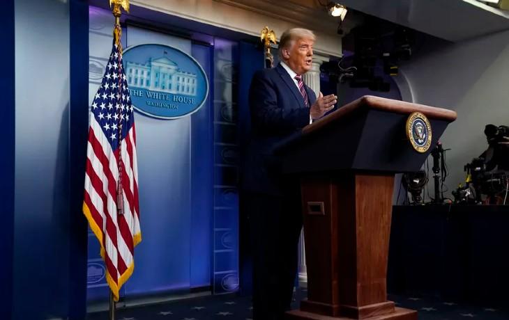 Incroyable censure en direct aux USA : Les télés (de gauche) coupent Trump en pleine allocution «Si les votes légaux étaient comptés, je gagnerais facilement». Du jamais vu dans une démocratie !