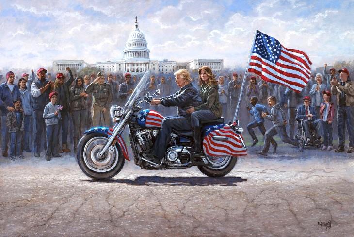 Trump en route vers la maison blanche
