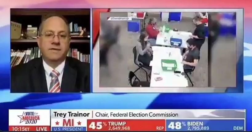 Elections US: «Il y a bien une fraude qui s'est produite» confirme le président de la Commission électorale fédérale Trey Trainor