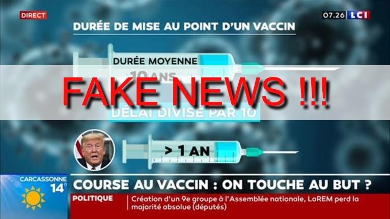fake news LCI