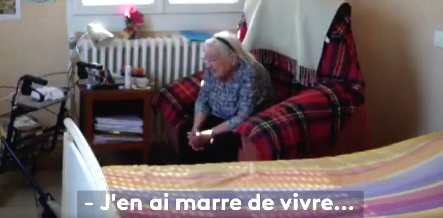 «Il y a eu bcp de décès de personnes âgées qui sont mortes de chagrin et de l'isolement. Elles ont été étiquetées décès Covid » Témoignage glaçant  (Vidéo)