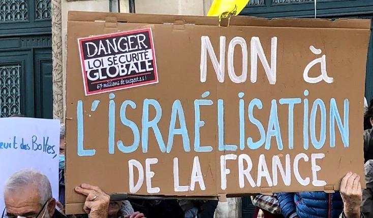 montpellier non à israélisation de la France