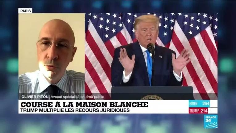 olivier Piton sur les recours de Trump