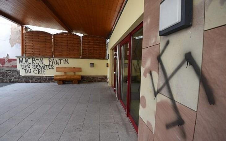 Mulhouse: Des tags antisémites sur les murs de la cité
