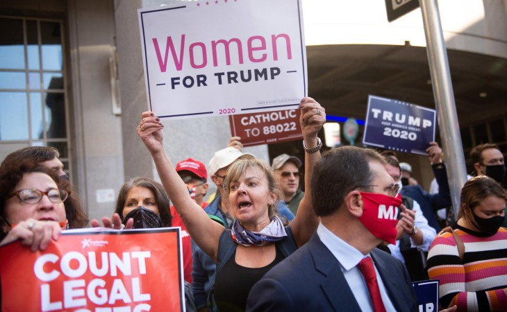 women for Trump votent modifiés