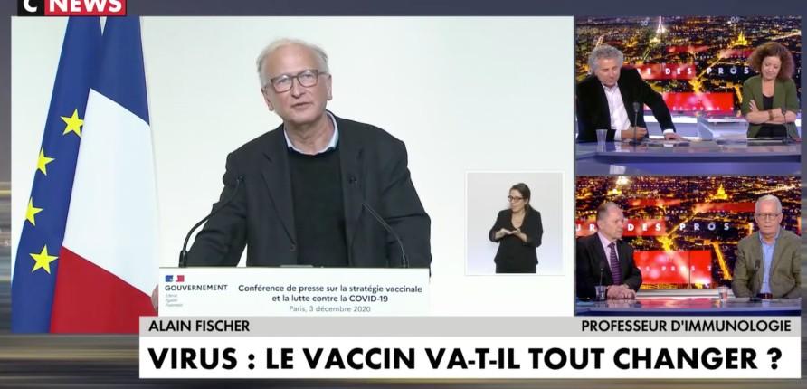 Très honnêtement M. Vaccin avertit qu'on ne sait rien sur l'efficacité du vaccin, Pascal Praud « Quand tu entends Monsieur vaccin, tu ne te feras pas vacciner ! » (Vidéo)