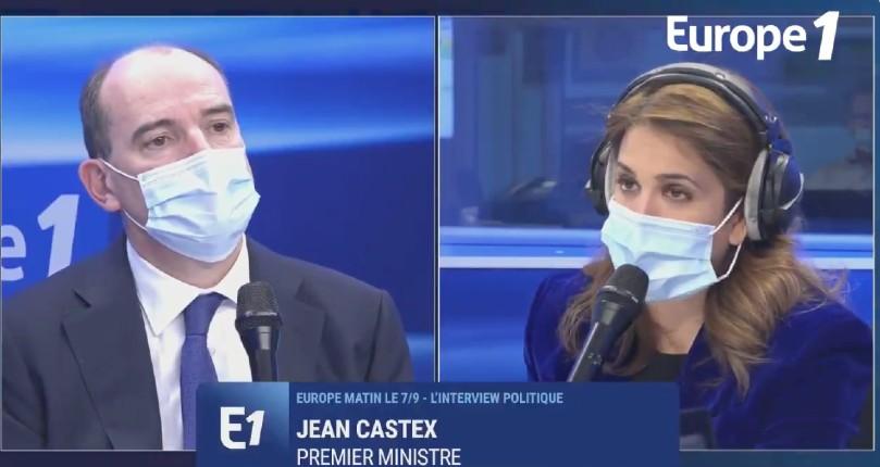 Castex face à Sonia Mabrouk