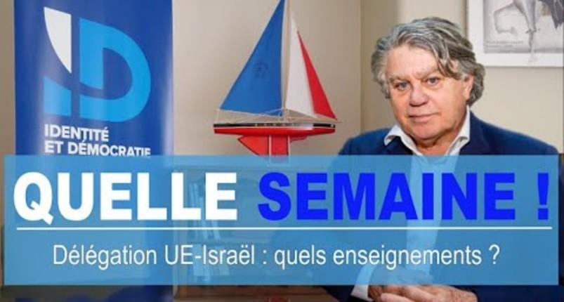 Gilbert Collard soutient Israel