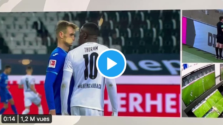 Le footballeur Marcus Thuram a craché sur Stefan Posch