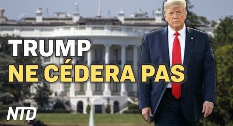 Trump ne cédera pas