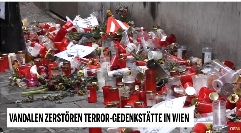 Vienne mémorial victime terrorisme saccagé