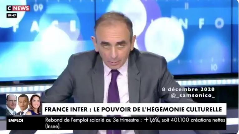 Zemmour sur France inter
