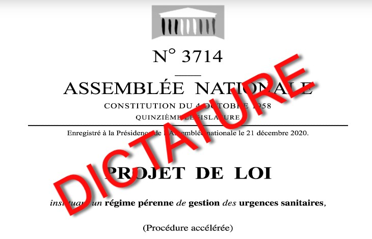 dictature projet de loi