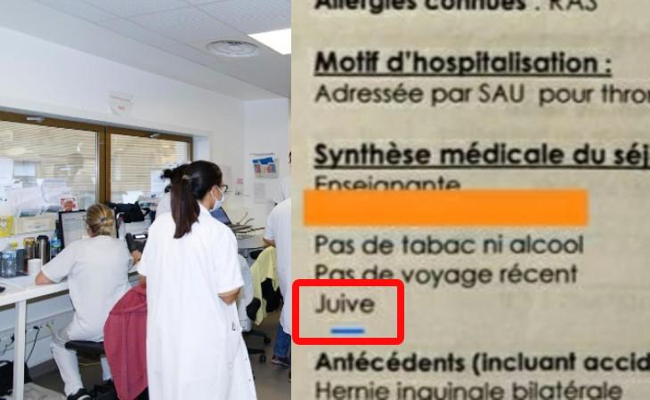 «Juive», un hôpital du val d'Oise mentionne la religion d'une patiente dans la synthèse médicale…
