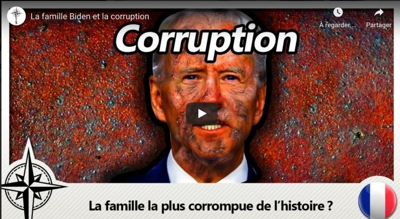 les affaires de corruption de la famille Biden