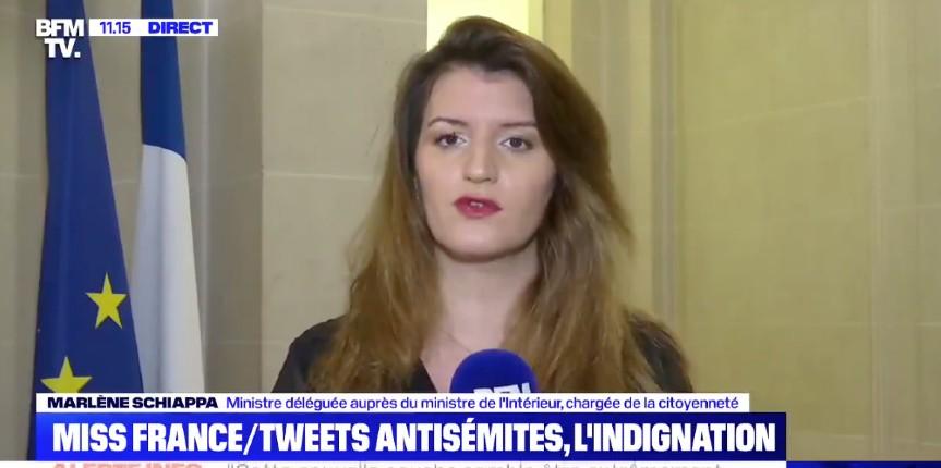 marlène Schippa miss provence antisémitisme