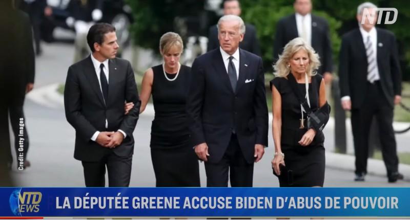 Biden accusé d abus de pouvoir