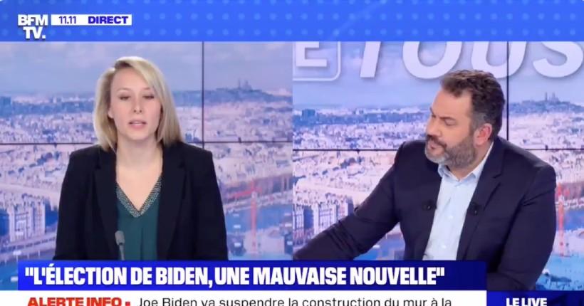 A BFMTV, l'insupportable propagande anti-Trump bat son plein: le militant macronien Bruce Toussaint ment effrontément sur la présidence Trump, il est magistralement recadré (Vidéo)