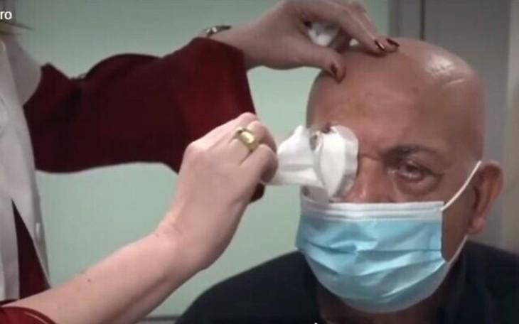 Israël apartheid ? Le premier aveugle ayant bénéficié d'une greffe d'une cornée artificielle est un Arabe