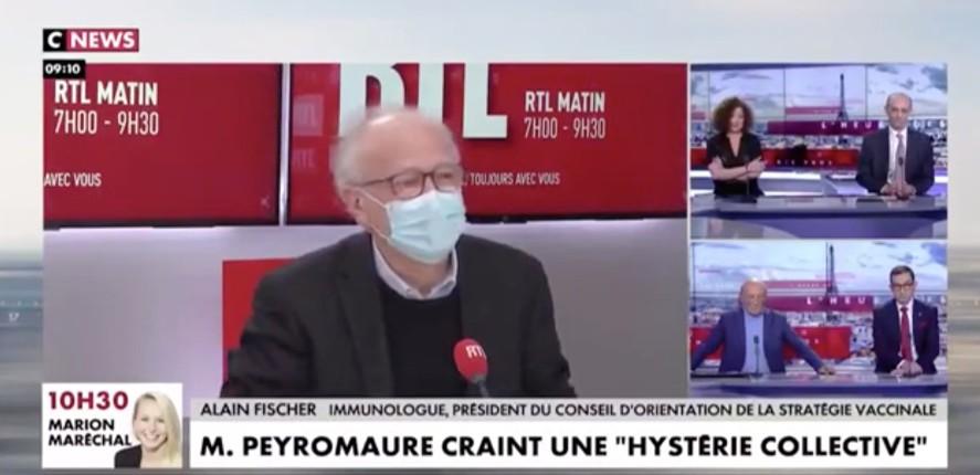 Moment d'anthologie sur CNEWS chez Pascal Praud : « Les morts vaccinés c'est à cause des commorbidités et leur état général, mais les morts non vaccinés c'est le Covid… »