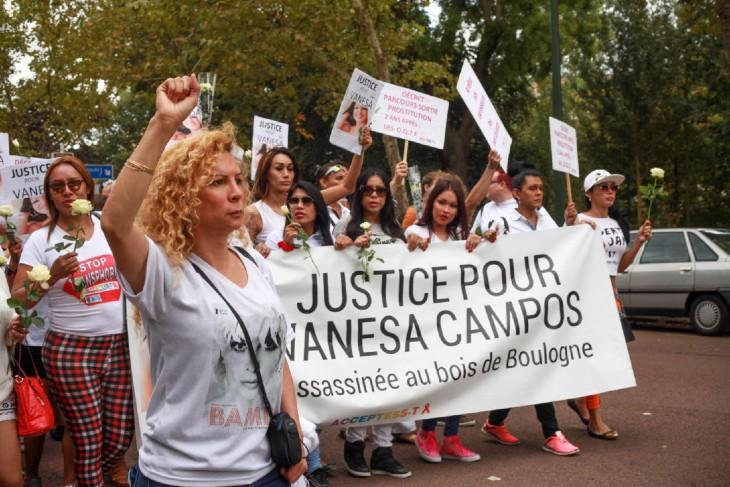 Meurtre de Vanesa Campos au bois de Boulogne – le parquet demande les assises pour neuf migrants
