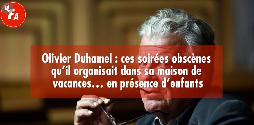 Affaire Duhamel : ces soirées obscènes qu'il organisait dans sa maison de vacances… en présence d'enfants