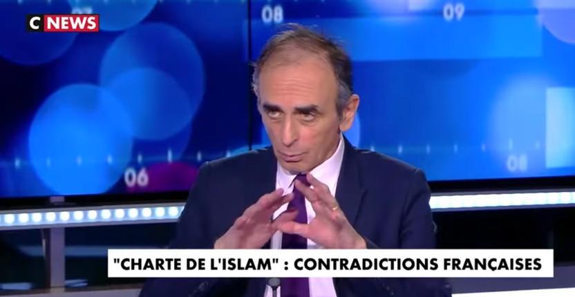 Eric Zemmour : « Le gouvernement français n'ose même pas imposer l'interdiction du voile islamique dans l'espace public pour les petites filles » (Vidéo)