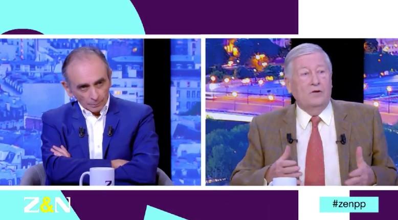 Eric Zemmour, candidat à la présidentielle 2022 ? «Il y a des gens qui souhaitent qu'il soit candidat», Zemmour ne dit pas non (Vidéo)