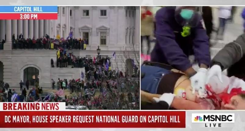 affrontements au Capitol
