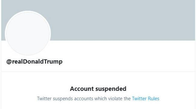 compte Trump bannit Twitter