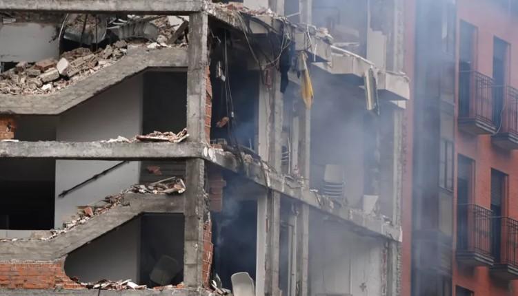 Espagne: forte explosion dans un immeuble du centre de Madrid, au moins deux morts