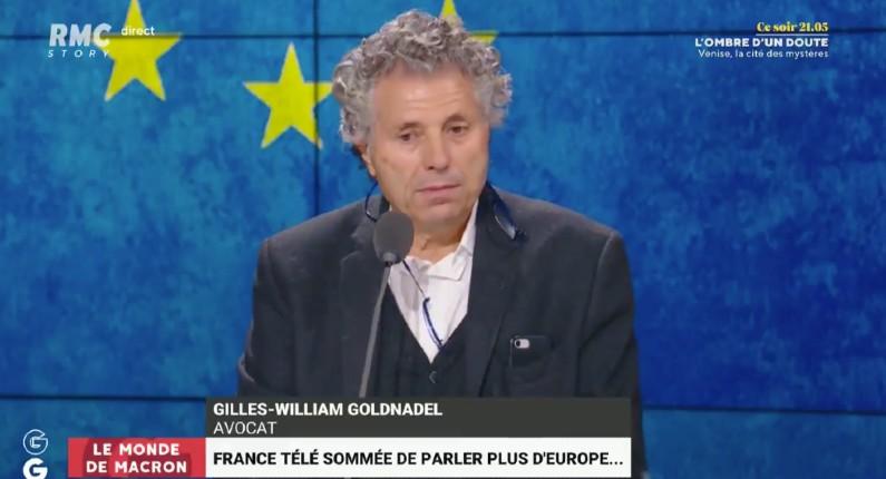 Gilles-William Goldnadel «L'audiovisuel de service public est gangrené par l'idéologie ! Je refuse qu'on m'impose une façon de pensée !» (Vidéo)