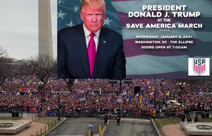 Washington, élections: Déjà plus d'un million de patriotes pour défendre l'Amérique et soutenir le président Trump (Vidéo en direct)