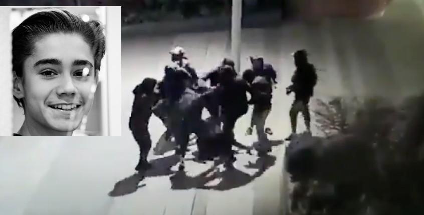 """Massacre de Yuriy par une dizaine de racailles: """"Ça fait très mal de voir votre enfant qui vous supplie de ne pas le laisser mourir"""" (Vidéo)"""